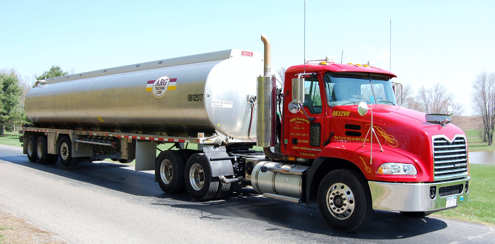 Training requirements for bulk fuel delivery drivers